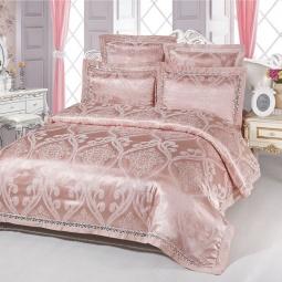фото Постельное белье Жаккард 1,5 спальное SB103-1 Kingsilk