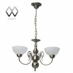 фото Подвесная люстра MW-Light Олимп 318014003 MW-Light