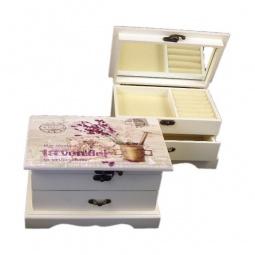 Купить Шкатулка для украшений 'Акита' (21х13 см) Прованс-AKI HL867B