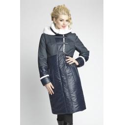 """Купить Пальто """"Амели"""" - темно-синий"""
