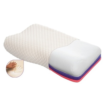 Купить Ортопедическая подушка Тривес с эффектом памяти (с регулируемой высотой) ТОП-105