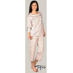 Купить Женская пижама из трикотажа 100% хб  арт.  3-25