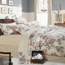 фото Семейный комплект постельного белья Сатин С175-4 Valtery