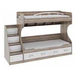 Купить Кровать двухъярусная 'Мебель Трия' Прованс СМ-223.11.001