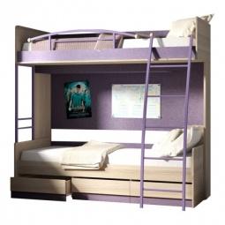 Купить Набор для детской 'Мебель Трия' Индиго ГН-145.005 ясень коимбра/навигатор