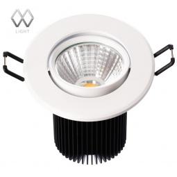 фото Встраиваемый светильник MW-Light Круз 637013701 MW-Light
