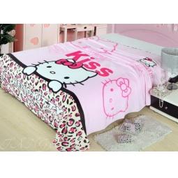 Купить Плед Микрофибра Hello Kitty Kiss 150х200
