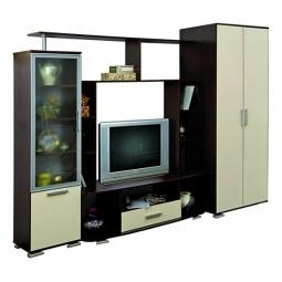 Купить 'Олимп-мебель' Стенка для гостиной Олимп М-20 4762-00 венге/дуб молочный