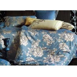 фото Постельное белье Жаккард с вышивкой Семейный tj112-462 Tango