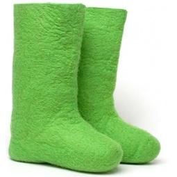 Купить Валенки  женские зеленые