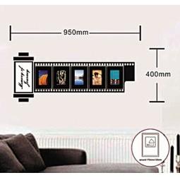 Купить Наклейка на стену для 5 фоторамок, NL83