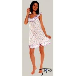 Купить Женская ночная трикотажная сорочка 100% хб арт. 1-67