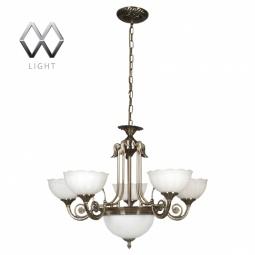 фото Подвесная люстра MW-Light Афина 357010208 MW-Light