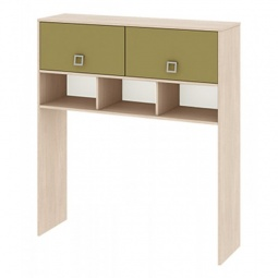 Купить Надстройка для стола 'Мебель Трия' Тетрис ПМ-154.11 ясень белладжио/оливковый