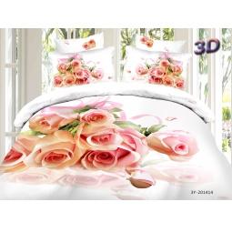 фото КПБ Сатин 2,0 спальный набивной 3D PX96-2 SEDA