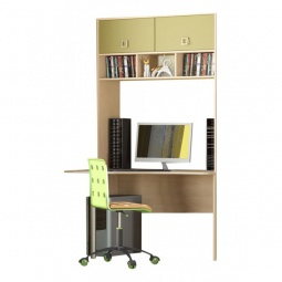 Купить Набор для детской 'Мебель Трия' Тетрис ГН-154.004 ясень белладжио/молочный/оливковый/шоколадный