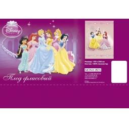 Купить Плед Флисовый Три принцессы 150х200 см 7514067 Мона Лиза