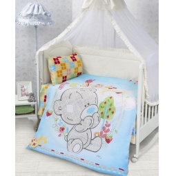 Купить Постельное белье для детей Тедди Бязь 75983 Мона Лиза
