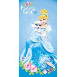 Купить Полотенце Принцесса в голубой 100% Хлопок 70*140 см 39021 Мона Лиза