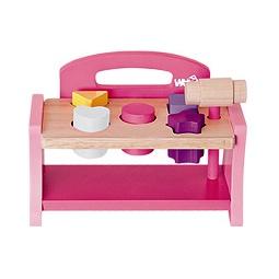 Купить Игра с молоточком, розовая