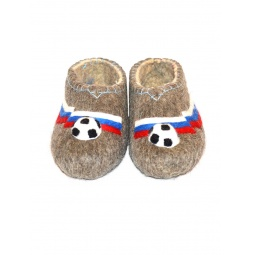 Купить Тапочки мужские футбольный мяч