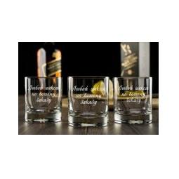 Купить Набор бокалов для виски с вашей гравировкой
