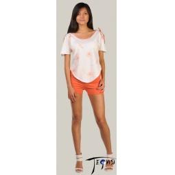 Купить Женская лёгкая пижама из трикотажа 100% хб  арт.  2-26