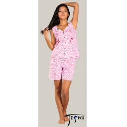 Купить Женская лёгкая пижама из трикотажа 100% хб  арт.  2-33
