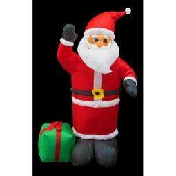 Купить Дед Мороз световой 'Неон-Найт' (1.2 м) с подарком NN-511 511-054