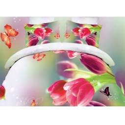 фото Постельное белье Поплин 1,5 спальное Dream Fly DF01-05 Tango