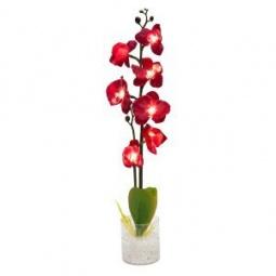 """Купить Декоративный светильник """"Орхидея"""", красные цветы, PL307"""