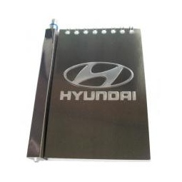 Купить Автомобильный  блокнот  с магнитом  Hyundai