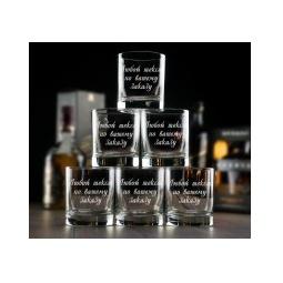 Купить Большой набор бокалов для виски с вашей гравировкой
