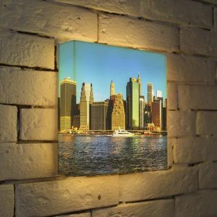 """Купить Лайтбокс """"NYC 3"""" 25x25-111 FotonioBox"""