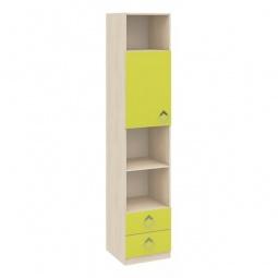 Купить Стеллаж комбинированный 'Мебель Трия' Аватар СМ-201.12.001 каттхилт/лайм