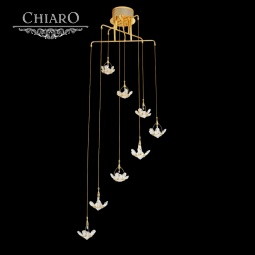 фото Потолочная люстра Chiaro Каскад 384015608 Chiaro