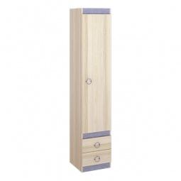 Купить Шкаф для белья 'Мебель Трия' Индиго ПМ-145.11 ясень коимбра/навигатор