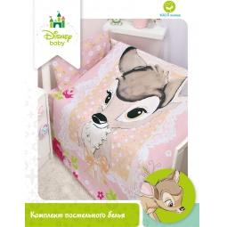 Купить КПБ Disney Бэмби для малышей бязь 83011 Мона Лиза