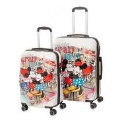 """Купить Комплект чемоданов Disney Микки Маус Love 20"""" и 24"""""""