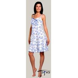 Купить Женская ночная трикотажная сорочка 100% хб арт.  1-60