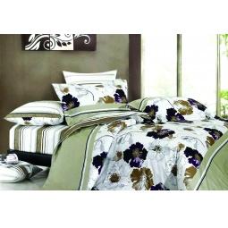 фото Постельное белье 1,5 спальное  Бамбук / хлопок GRASS 22012 Каригуз