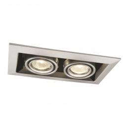 фото Встраиваемый светильник Arte Lamp Technika A5941PL-2SI Arte Lamp