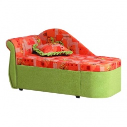 Купить Диван-кровать 'Олимп-мебель' Мася-12 8091127 зеленый/розовый