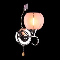 фото Бра Eurosvet 3353, 3457 3457/1 хром/розовый Eurosvet