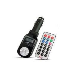 Купить USB MP3 плеер FM трансмиттер с дисплеем и пультом ДУ