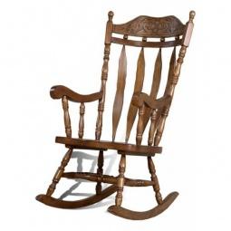 Купить Кресло-качалка 'Петроторг' 4768Т дуб темный