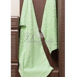 Купить Махровое полотенце Vitra зеленое 50х90 см 29411 Примавель