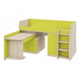 Купить Кровать 'Мебель Трия' Аватар СМ-201.02.001 каттхилт/лайм