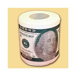 Купить Туалетная бумага 100 долларов