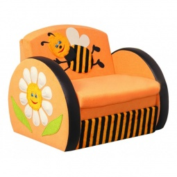 Купить Диван-кровать 'Олимп-мебель' Мася-8 Пчелка 8141127 желтый